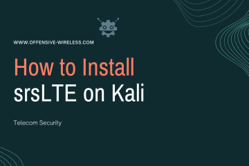 How to Install srsLTE on Kali Linux
