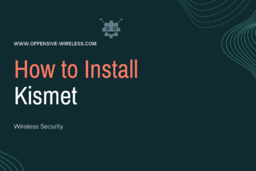 How to Install Kismet