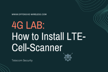 How to Install LTE-Cell-Scanner